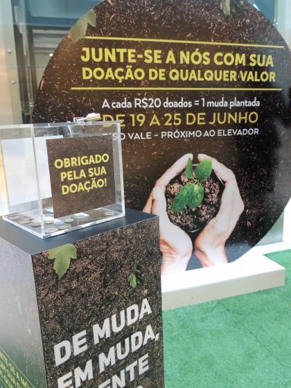 Corredor Ecológico trabalha em ação conjunta com o CenterVale Shopping